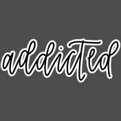 Digital Day Elements- Wordart Sticker 01