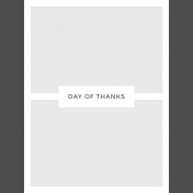 Day Of Thanks- Pocket Template 2- 3x4