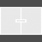 Day Of Thanks- Pocket Template 2- 4x6