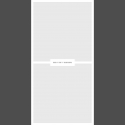Day Of Thanks- Pocket Template 2- 4x8