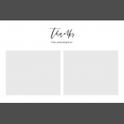 Day Of Thanks- Pocket Template 5- 4x6