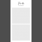 Day Of Thanks- Pocket Template 5- 4x8