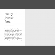 Day Of Thanks- Pocket Template 7- 4x6