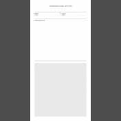 Day Of Thanks- Pocket Template 9- 4x8
