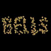 Light String Words- Star Bells