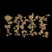 Light String Words- Star Tree