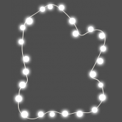 Light Strings & Candy Icons- Mitten Lights