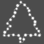 Light Strings & Candy Icons- Tree Lights