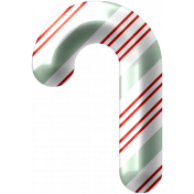 Light Strings & Candy Icons- Candy Cane 1 Pattern 2