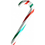 Light Strings & Candy Icons- Candy Cane 2 Pattern 3