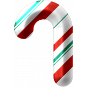 Light Strings & Candy Icons- Candy Cane 1 Pattern 5