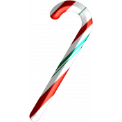 Light Strings & Candy Icons- Candy Cane 2 Pattern 5