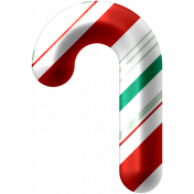 Light Strings & Candy Icons- Candy Cane 1 Pattern 6