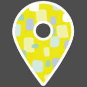 New Day Elements- Geo Tag Sticker 1