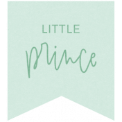 New Day Elements- Little Prince Tag