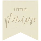New Day Elements- Little Princess Tag