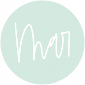 New Day Month Labels- Light Mint March