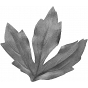 Leaves No.8 Leaves 4- Template