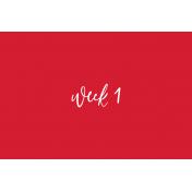 Back To Basics Week Pocket Cards 01-002