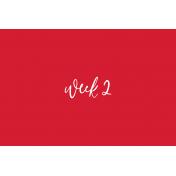 Back To Basics Week Pocket Cards 01-004