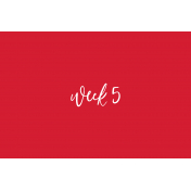 Back To Basics Week Pocket Cards 01-010