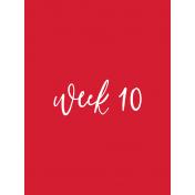 Back To Basics Week Pocket Cards 01-019