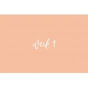 Week Card 10-002