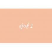Week Card 10-004