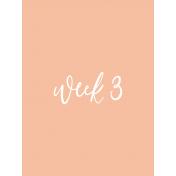 Week Card 10-005