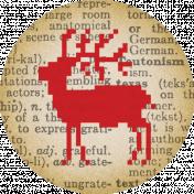 A Little Sparkle Mini Reindeer