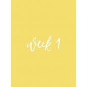 Back to Basics Week Pocket Card 06-001