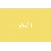 Back to Basics Week Pocket Card 06-002
