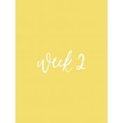 Back to Basics Week Pocket Card 06-003