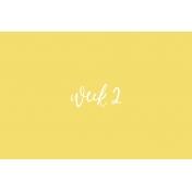 Back to Basics Week Pocket Card 06-004