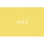 Back to Basics Week Pocket Card 06-006
