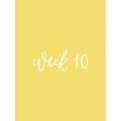 Back to Basics Week Pocket Card 06-019