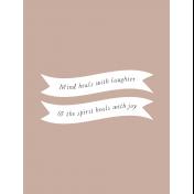 Good Life: Unwind Cards- Card 07