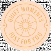 unwind quiet moments you