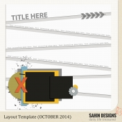 October Layout Template