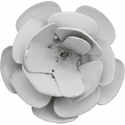 Flower 02- Metal Accent- Template