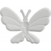 Butterfly- Metal Accent- Template