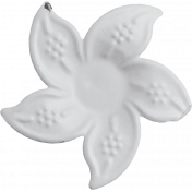 Flower 04- Metal Accent- Template