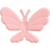 Butterfly- Metal Accent