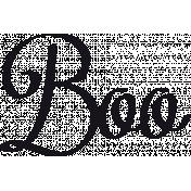 Bootiful- Boo- Word Art