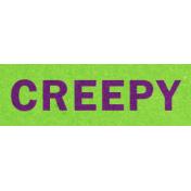 Bootiful- Creepy- Label