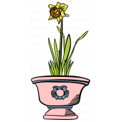 Our House Garden,Elements- Flower Pot 01