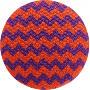 Bootiful- Fabric Button- Chevron