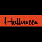 Bootiful- Halloween Label