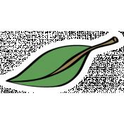 Our House Garden,Elements- Leaf Sticker Green 01