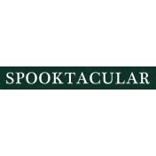 Bootiful- Spooktacular